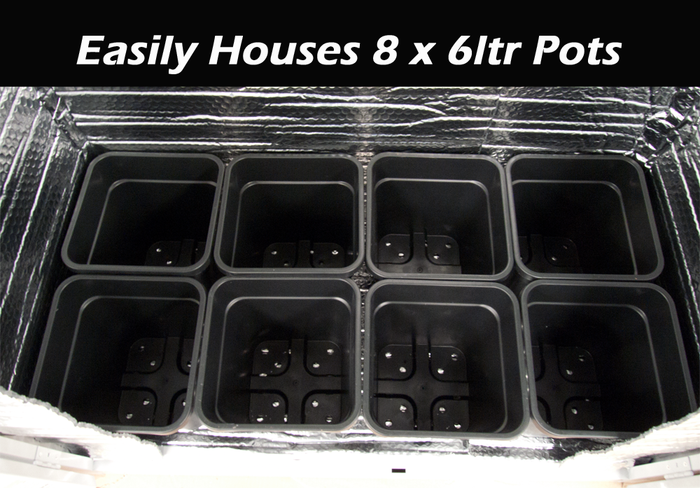 vortex grow box pots